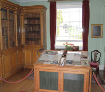 This room, in the British estate Bowood House, was the library and laboratory in which Joseph Priestley discovered the element oxygen in 1774.
