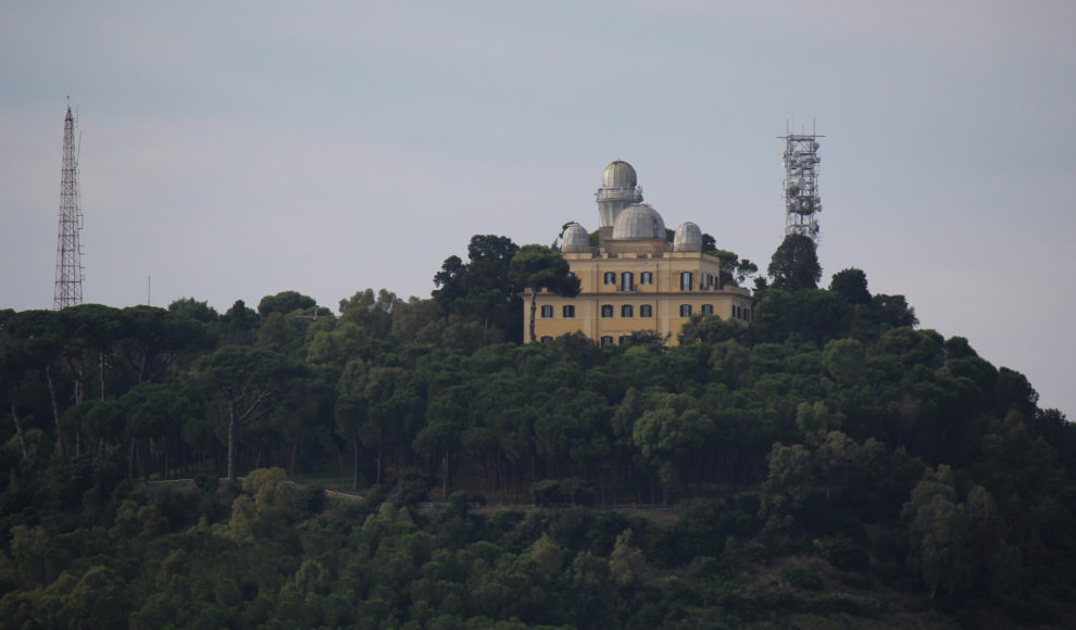 Photograph of the Vatican Observatory in Castel Gandolfo, Italy.