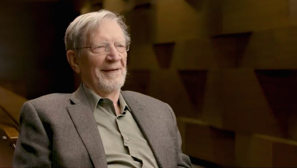 American philosopher Alvin Plantinga, winner of the 2017 Templeton Prize